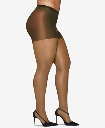 Curves Plus Size Silky Sheer Pantyhose Hanes