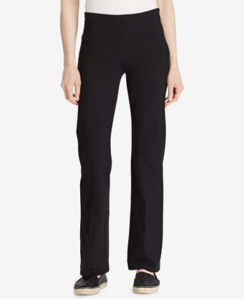 Jersey-Knit Performance Yoga Pants Ralph Lauren