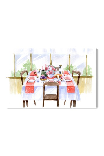 At The Table Canvas Wall Art Wynwood Studio