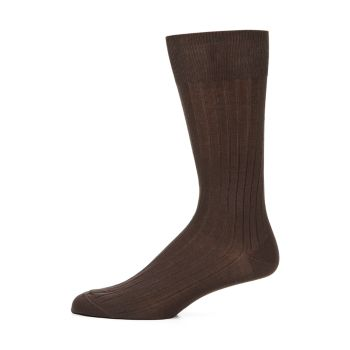 COLLECTION Cotton-Blend Dress Socks Saks Fifth Avenue