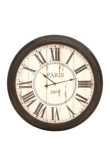 Paris Inspired Vintage Wall Clock Willow Row