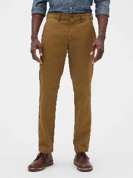 Essential Khakis in Athletic Taper Fit with GapFlex Gap Factory