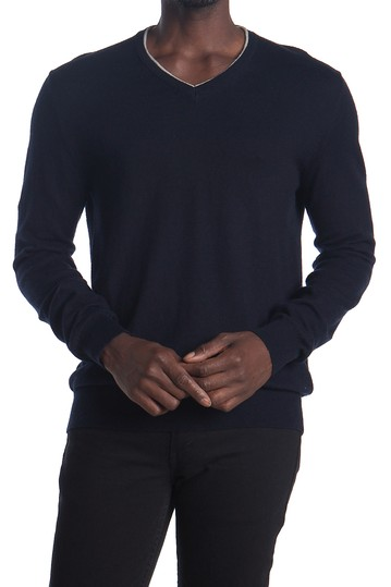 Long Sleeve V-Neck Sweater AMICALE