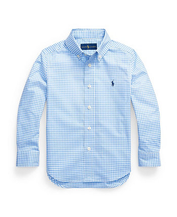 Little Boys Gingham Cotton Poplin Shirt Ralph Lauren