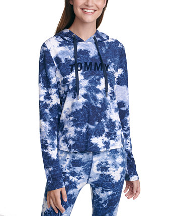 Tie-Dyed Graphic Hoodie Tommy Hilfiger