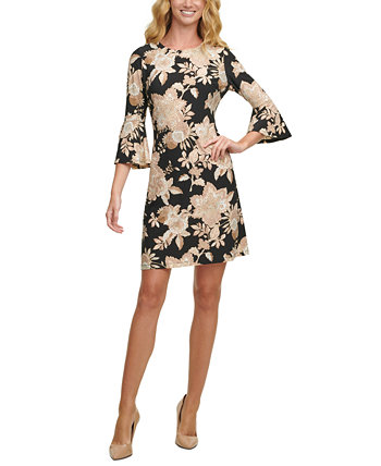 Floral-Print A-Line Dress Tommy Hilfiger