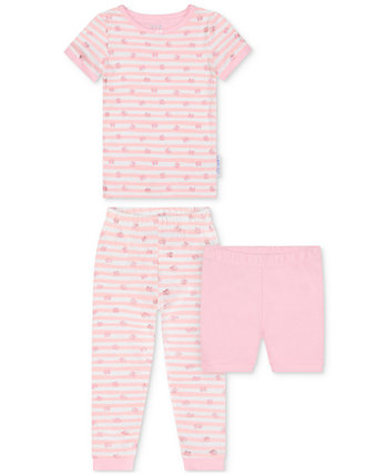 Toddler Girls 2-Piece Butterfly-Print Pajama Set with Shorts Max & Olivia