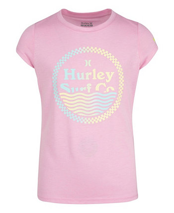 Big Girls Wavey Checkers T-shirt Hurley