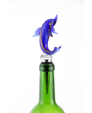 Dolphin Bottle Stopper Three Star