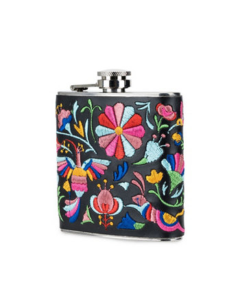 Embroidery Flask Blush