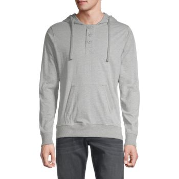 Long-Sleeve Cotton Hoodie Unsimply Stitched