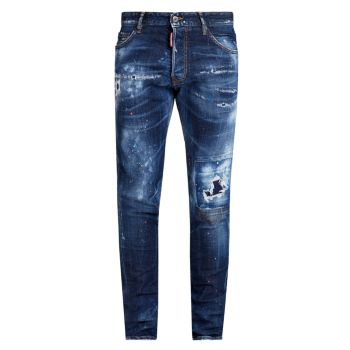 Рваные джинсы D-Made With Love Cool Guy DSQUARED2