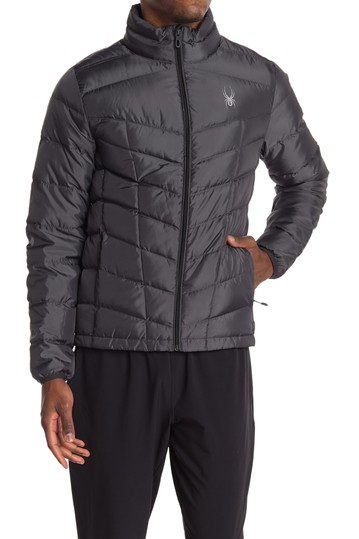 Pelmo Down Quilted Jacket Spyder