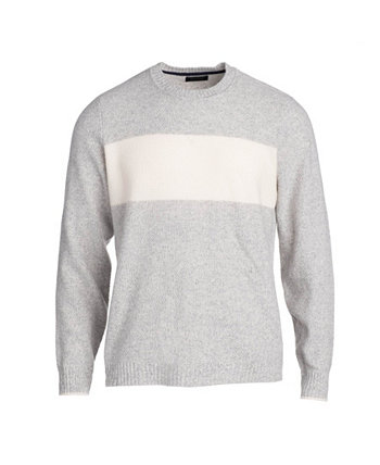 Men's Seed Stitch Colorblocked Crewneck Pullover NAADAM