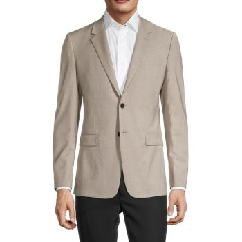 Regular-Fit Wool-Blend Sportcoat Theory