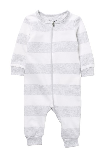 Striped Knit Coverall (Baby) Petit Lem