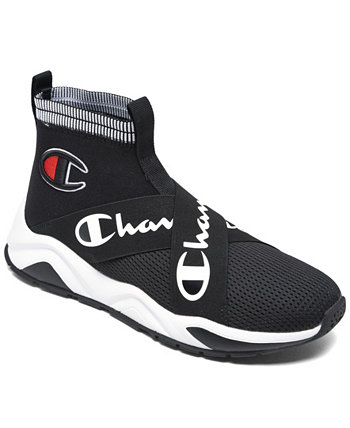 Men's Rally Crossover Slip-on Casual Sneakers from Finish Line Champion