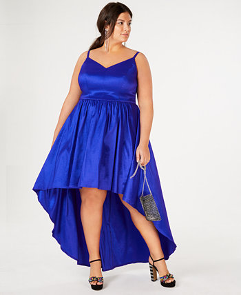Trendy Plus Size High-Low Dress, Created for Macy's B Darlin