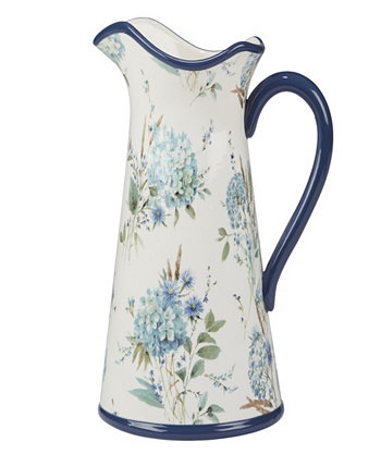 Bohemian Blue Pitcher Certified International