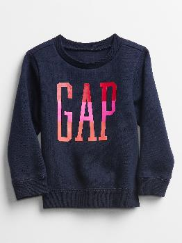 Toddler Gap Logo Crewneck Sweatshirt Gap Factory