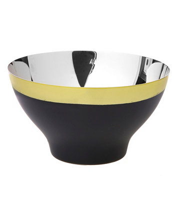 "6"" Twon Tone Stainless Steel Bowl Classic Touch"