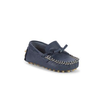 Baby Boy's Leather Driving Loafers Elephantito