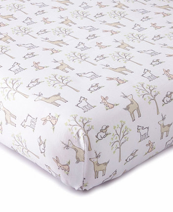 Baby Skylar Character Crib Fitted Sheet Levtex