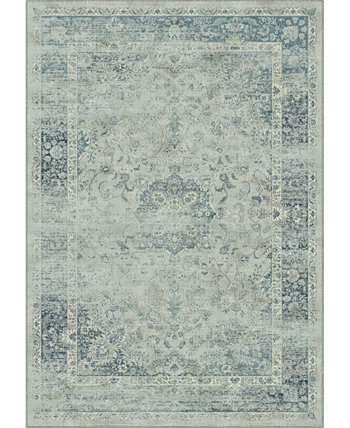 "Vintage Light Blue 5'3"" x 7'6"" Area Rug Safavieh"