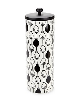 Around The Table Printed Ceramic Canister Lenox