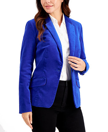 Velveteen Blazer, Created for Macy's Charter Club