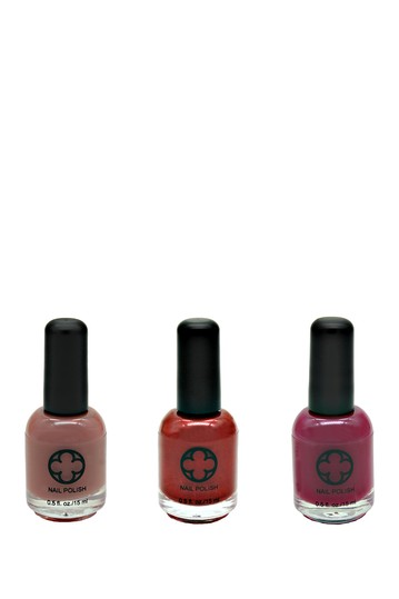 3-Piece Nail Polish Set - Stand Your Ground Glamour Status