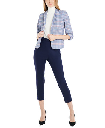 Плед Taylor Glen Plaid Blazer, созданный для Macy's Riley & Rae