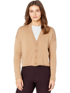 Petite Button Front Cardigan Eileen Fisher