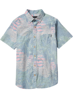 Deco Palm Woven Top (Little Kids/Big Kids) GROM Kids