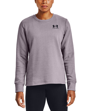 Women's Rival Fleece Crewneck Sweatshirt Under Armour