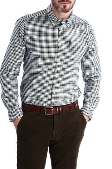 Gingham Tailored Fit Shirt Barbour