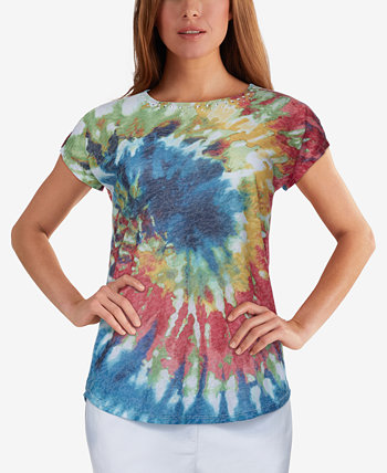 Petite Tie-Dyed T-Shirt Ruby Rd.