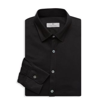 Modern-Fit Long-Sleeve Dress Shirt Canali