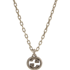 Interlocking G Necklace with Pendant GUCCI