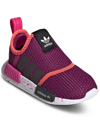 Toddler Girls NMD 360 Slip-On Casual Sneakers from Finish Line Adidas