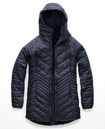 Women's Mossbud Hooded Fleece-Lined Reversible Parka The North Face