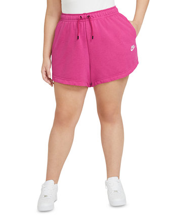 Plus Size Women's Essential French Terry Shorts Nike