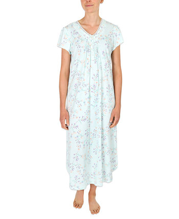 Printed Long Nightgown Miss Elaine
