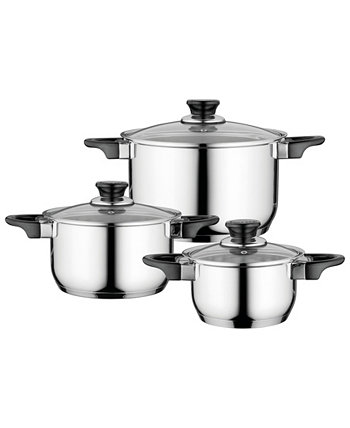 Essentials Gourmet Cookware Set with Handles, 6 Pieces BergHOFF