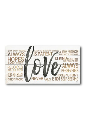 Love Gallery Wrapped Canvas Wall Art Courtside Market