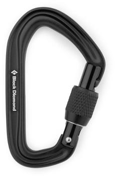 HotForge Screwgate Carabiner Black Diamond
