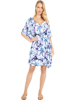 Tie-Dye для Border Cover-Up Jessica Simpson