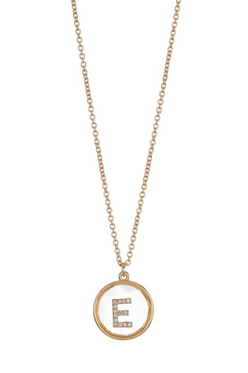 Initial Pendant Necklace - Multiple Initials Available Vince Camuto