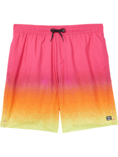 All Day Fade Layback Boardshorts (Big Kids) Billabong Kids