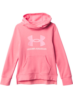 Rival Fleece Logo Hoodie (Big Kids) Under Armour Kids